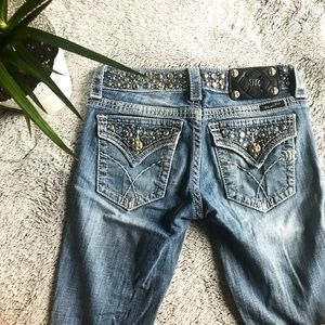 Miss Me Bling Bootcut Jeans